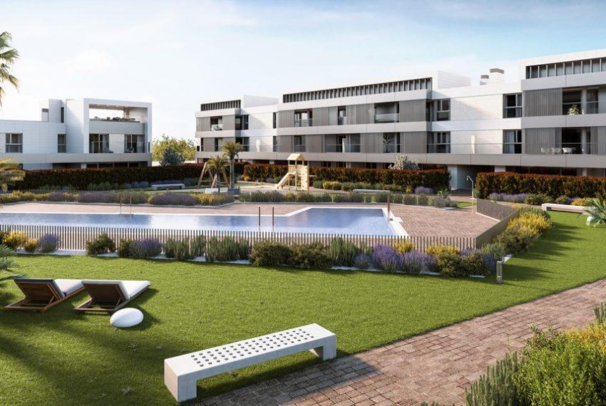 Velaire residencial pr xima promoci n en la mejor zona de for Piscina miralbueno