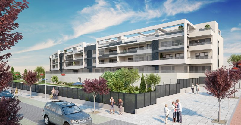 Residencial scenia iii ltima vivienda disponible junto for Mercadona oficinas centrales telefono
