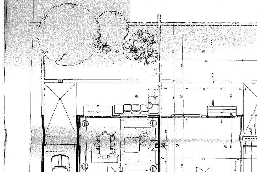 plano planta calle