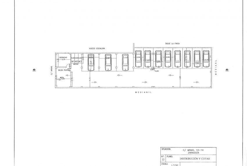 plano solucion garajes